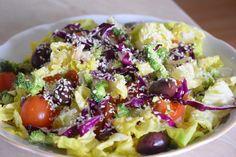 salata vegana in 7 culori