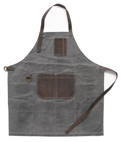 Birdkage-Peyton-Utility-Long-Bib-Apron-in-Wax-Canvas-Leather-4-Colors