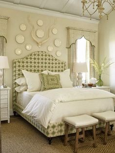 Bedroom Design Ideas: Decorating Above Your Bed - Driven by Decor