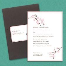 Inflorescence Layered Pocket Invitation