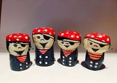 Image result for figurines made of wine corks