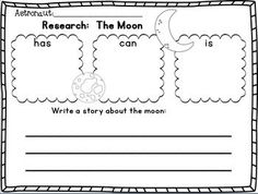 Sun, Moon, and Earth Literacy/Math Unit~ Freebie in Download preview!  THIS UNIT HAS BEEN UPDATED!!!  WHIMSY CLIPS!  OH sooooo CUTE! :o)