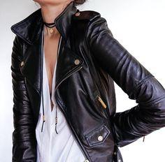Rock 'n' Roll Style ✯ FashionedChic; Flipping up my collar