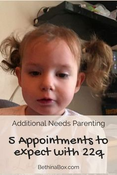 5 Appointments to expect with Di George Syndrome - Beth in a Box #22q #22q11.2DS #digeorgesyndrome