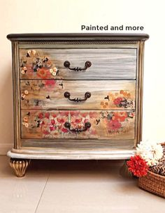 Decoupage Furniture with Chalk Paint - Bing images