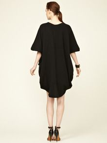 Cotton Knit Poncho by Anagram by Gary Graham at Gilt