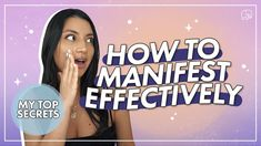 Law Of Attraction Tips, How To Manifest, The Secret, Routine