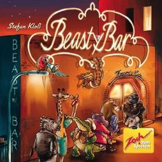 Beasty Bar is a card game where players try to get animals into a night club while preventing opponents from doing the same, by using various animal abilities.