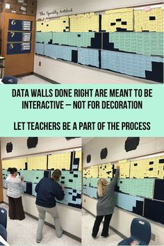Cognitio Academy will track student achievement using data walls. Students within each grade level will be intentionally grouped based on achievement and the speed at which they acquire new knowledge. School Leadership, Educational Leadership, Educational Technology, School Counseling, Professional Learning Communities, Professional Development For Teachers, School Data Walls, Student Data Walls, Classroom Data Wall