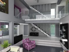 2 floor high living with michael godard picture