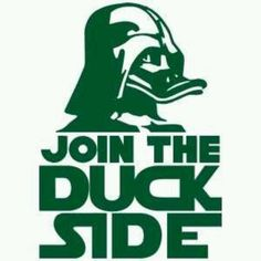 Combining Star Wars and the Oregon Ducks...I couldn't be happier!