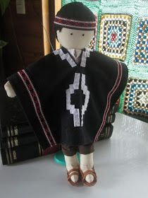 º de no leídos) - majosefao - Yahoo Mail Native American Dolls, Felt Dolls, World Cultures, Needle Felting, Different Styles, Doll Clothes, Costumes, Crafts, Diy