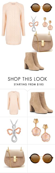 """Untitled #177"" by reemf52 on Polyvore featuring Paul & Joe Sister, Yves Saint Laurent, Pasquale Bruni and Chloé"