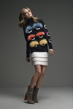 Fur Monsters take over Fendi Pre-Fall 2015 collection - LaiaMagazine