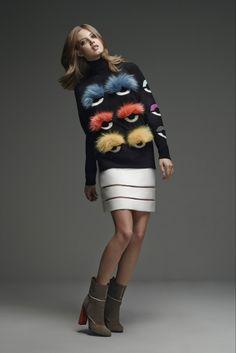 Fur Monsters take over Fendi Pre-Fall 2015 collection - LaiaMagazine