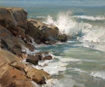"""Scott Christensen, """"Seascape"""""""