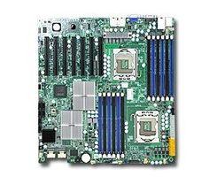 Supermicro MBD-X8DTH-6F Dual LGA 1366 6 SATA Ports via ICH10R LSI2008 8 SAS Controller Dual GbE LAN Ports Integrated Matrox G200eW graphics IPMI 2.0 Full Warranty