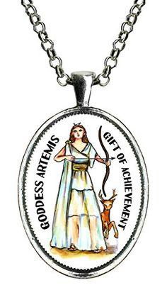 Guided By the Goddess Artemis Gift of Achievement Huge Silver Pendant Guided By The Goddess http://www.amazon.com/dp/B014GPWJ26/ref=cm_sw_r_pi_dp_Dtrewb1C7KK77