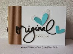 "Manu - Arte & Cuore: MINI ALBUM ""Original Family"""