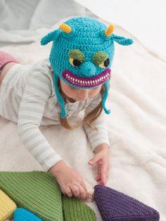 Monstrous Hat - Media - Crochet Me