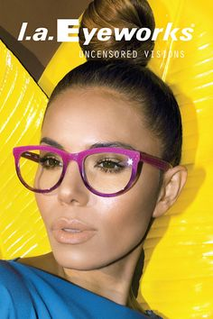 2b0ca64f8ca l.a.Eyeworks Frame  POND available at Eye Etiquette Optical Boutique in  Victoria