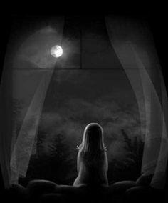 Wunsch an den Mond