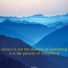 Wenskaart Silence is not the absence of something Dubbele kaart met envelop afmeting 14 x 14 cm. Joy Quotes, The Absence, Friendship, Wisdom, Pictures, Photos, Photo Illustration, Resim, Stand By Me