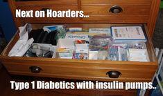 Insulin Pump hoarding