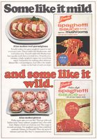 French's Spaghetti Sauce Mix Recipes 1968 Ad Picture