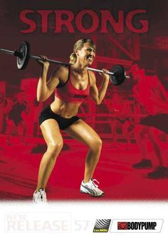 Body pump! I went tonight and OMG!!!! It is going to help whip me back to my wedding shape!