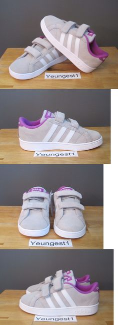 Zapatos de bebé 147285: Toddler Girls adidas zx flujo zapatillas nuevas, solar