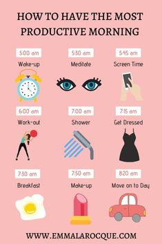 morning routine Create a healthy and productive morning routine for college women. Wakeup early to workout and do some self-care. Find checklists, charts, and bullet journal ideas for College Morning Routine, Healthy Morning Routine, Morning Habits, Night Routine, Yoga Routine, Self Care Routine, Morning Routines, Health Routine, Healthy Routine Daily