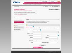 Aperçu de la déclaration simplifiée sur le site internet de la Commission nationale de l'informatique et des libertés (#CNIL) pour la déclaration des fichiers et traitements informatiques contenant des données personnelles : http://www.evolutiveweb.com/actualites/articles/declaration-obligatoire-a-la-cnil-pour-son-site-internet-74.html
