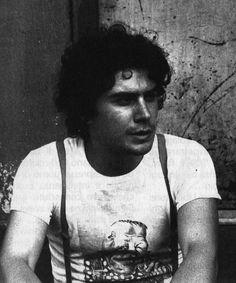 Stefano Tamburini a New York nell'estate del 1979. Tamburini (Roma, 1955-1986) è stato un fumettista e grafico, creatore dei personaggi di Ranxerox e Snake Agent, e ideatore della testata e della grafica della rivista Frigidaire.
