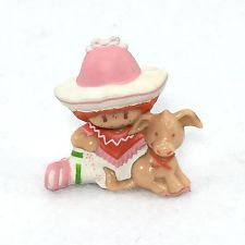 VINTAGE STRAWBERRY SHORTCAKE CAFE OLE & BURRITO DONKEY PVC MINI MINIATURE (#04)