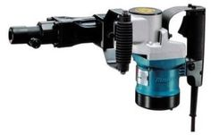 The Makita HM1211B 20-Pound Demolition Hammer features a powerful 10 Amp motor that provides fast and efficient operation. For user comfort and convenience, the rubber grip side handles absorb vibration and can be secured in four positions. This tool has been factory grease packed for reduced maintenance and it has an automatic brush cut-out when periodic servicing is due. It accepts commonly used 3/4-inch steel and measures 19-5/16-by-5-11