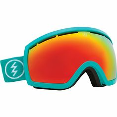 e76d1dbc2ba Electric EG2.5 The Real Teal Teal   Red Chrome Snowboard Goggles