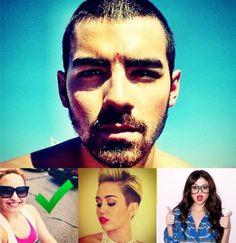 Joe's favorite former Disney star is...Demi Lovato!