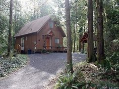 Mount Baker Vacation Rental - VRBO 963566ha - 3 BR Northwest & Islands Cabin in WA, Privacy & Seclusion is What This Cabin Has. Plus a Hot Tub!