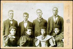 Studio portrait of Knoxville (Tenn.) College Glee Club circa the 1880s.