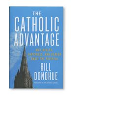 In his latest book, Bill Donohue explores a simplified and practical way of looking at the faith, demonstrating how Catholic living enhances our well-being. With exciting new research and time- honored wisdom, he shows how the application of beliefs, bonds and boundaries lead to a bountiful life, while atheism, narcissism, and hedonism paves the path to misery. Click to purchase from EWTN Religious Catalogue.