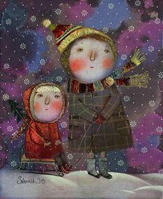 Huele a árbol de Navidad - Anna Silivonchik