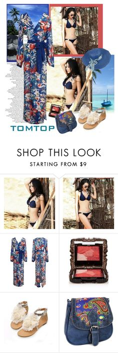"""""""TOMTOP+19"""" by carola-corana ❤ liked on Polyvore featuring Anna Sui, vintage, tomtop and tomtopstyle"""