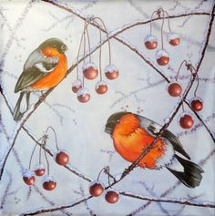 Hey, I found this really awesome Etsy listing at https://www.etsy.com/listing/178367911/christmas-gift-silk-scarf-painting