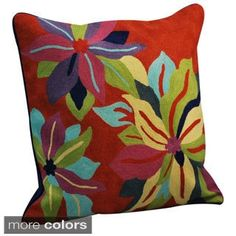 Crewel Work Pillows (India) | Overstock.com Shopping - The Best Deals on Throw Pillows & Covers
