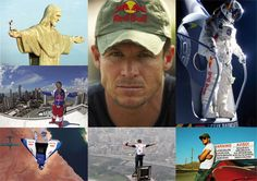 Felix Baumgartner. Austrian skydiver, daredevil and BASE jumper. He set the world record for skydiving an estimated 39 kilometres, reaching an estimated speed of 1,342 kilometres per hour, or Mach 1.24, on 14 October 2012.