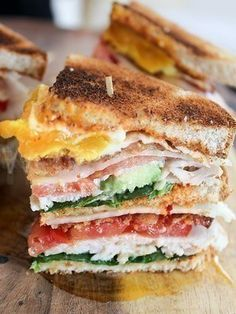 Today's Sandwich: California Club with Chipotle Mayo (Homemade)