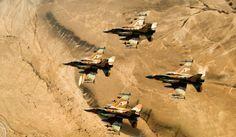 Syrian air force ISIS   Israel Air Force F-16i (Sufa) – Photo Courtesy : IDF Spokesperson ...