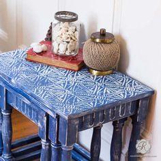 African Design and Tribal Batik Pattern - Royal Design Studio Furniture and Craft Stencils