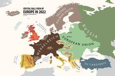 Aixi veu la gent de #alphadesigner l' #Europa de #2022 #ImperiCatala #independencia